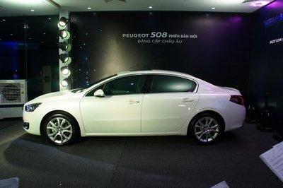 Thiết kế ngoại thất của Peugeot 508 2019 mới a2