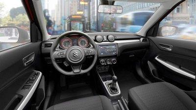 Ảnh chụp nội thất xe Suzuki Swift 2018-2019