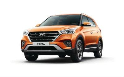 Giá bán của Hyundai Creta 2018 có sự chênh lệch so với phiên bản 2017 z