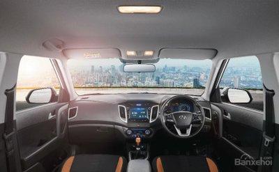 Nội thất nâng cấp của Hyundai Creta 2018 z