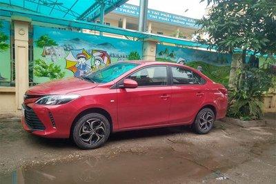 Bất ngờ với thiết kế hoàn toàn khác biệt của Toyota Vios 2018 mới xuất hiện tại Quảng Ninh - Ảnh 6.