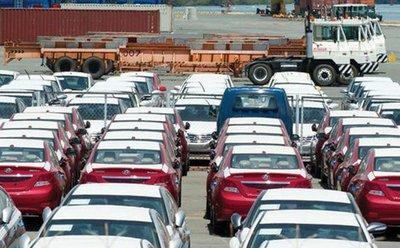 Xe nhập khẩu nằm bãi vì Nghị định 116.