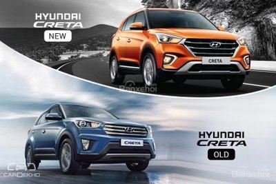 So sánh xe Hyundai Creta 2018 và Hyundai Creta 2017 về thiết kế ngoại thất z