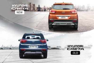 So sánh xe Hyundai Creta 2018 và Hyundai Creta 2017 về thiết kế ngoại thất 2a