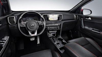Kia Sportage 2019 chính thức trình làng, thêm máy dầu và hybrid 2a