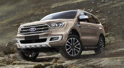 SUV 7 chỗ máy dầu: Ford Everest 2019 mới lật đổ Toyota Fortuner và Mitsubishi Pajero Sport ? 1