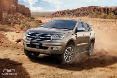 SUV 7 chỗ máy dầu: Ford Everest 2019 mới lật đổ Toyota Fortuner và Mitsubishi Pajero Sport ? 2a