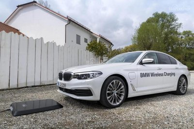 BMW trình làng hệ thống sạc xe hybrid không dây với BMW 530e iPerformance - 1