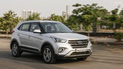 Giá xe Hyundai Creta 2018 có giá dao động từ 943.908 - 1.503.934 INR (313 - 500 triệu đồng) z