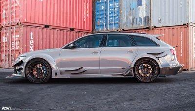 Audi RS6 độ hầm hố ngang xe đua DTM 5