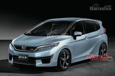 Xem trước Honda Jazz thế hệ hoàn toàn mới