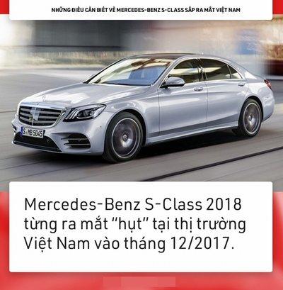 9 điều về Mercedes-Benz S-Class chuẩn bị ''''''''lên sóng'''''''' tại Việt Nam 2