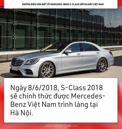 9 điều về Mercedes-Benz S-Class chuẩn bị ''''''''lên sóng'''''''' tại Việt Nam 3
