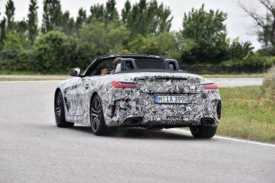 BMW Z4 M40i 2018 lộ diện trong bộ dạng roadster thuần chủng a4