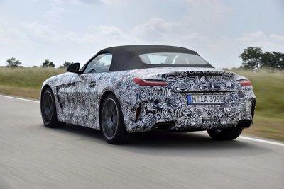 BMW Z4 M40i 2018 lộ diện trong bộ dạng roadster thuần chủng a14