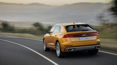 Không gian phía sau của Audi Q8 2019 rộng rãi