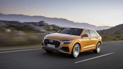 Chiếc Audi Q8 2019 mang hình dáng và sức mạnh vận hành thể thao