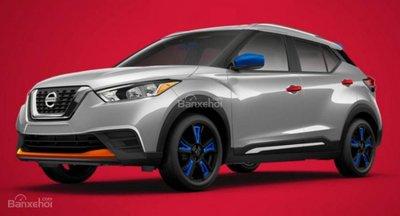 Nissan Kicks 2018 bổ sung gói trang bị Color Studio, khoe sắc rực rỡ - 1