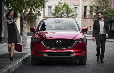 Thiết kế ngoại thất Mazda CX-5 2018.