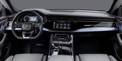 Ảnh Audi Q8 2019, BMW X6 và Mercedes GLE Coupe a8