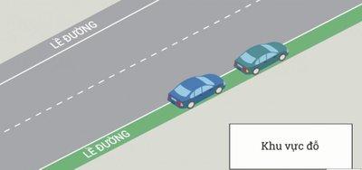 Cách dừng, đỗ xe ô tô đúng quy định để không bị phạt 3.