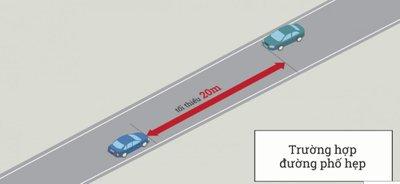 Cách dừng, đỗ xe ô tô đúng quy định để không bị phạt 5.