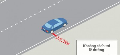 Cách dừng, đỗ xe ô tô đúng quy định để không bị phạt 4.