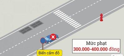 Cách dừng, đỗ xe ô tô đúng quy định để không bị phạt 9.