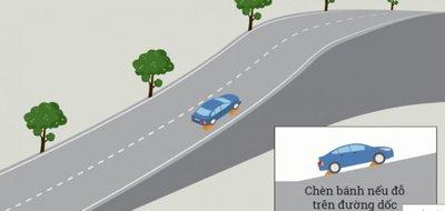 Cách dừng, đỗ xe ô tô đúng quy định để không bị phạt 7.