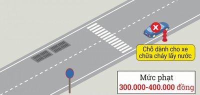 Cách dừng, đỗ xe ô tô đúng quy định để không bị phạt 10.