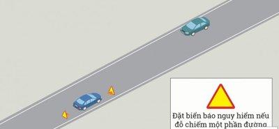 Cách dừng, đỗ xe ô tô đúng quy định để không bị phạt 6.