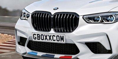 Phác họa bản hiệu suất BMW X5 M sắp trình làng 2a