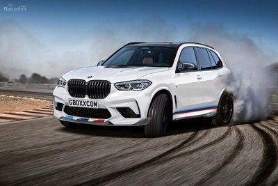 Phác họa bản hiệu suất BMW X5 M sắp trình làng z