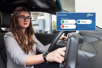 Xe Hyundai chuẩn bị tích hợp thêm hệ thống thanh toán tự động a2