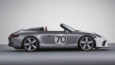Số hiệu 70 mang ý nghĩa kỷ niệm sinh nhật lần thứ 70 của Porsche2
