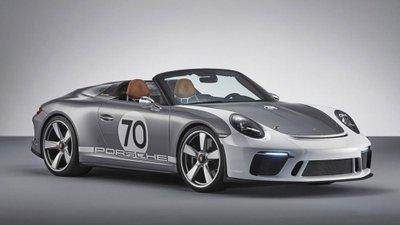 Siêu phẩm 911 Speedster được lấy cảm hứng từ chiếc xe đua 356 1500 Speedster 1