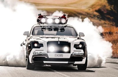 """Rolls-Royce Wraith nguyên bản được thay thế với ngoại hình cực """"dị""""5"""