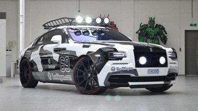 """Rolls-Royce Wraith nguyên bản được thay thế với ngoại hình cực """"dị"""""""