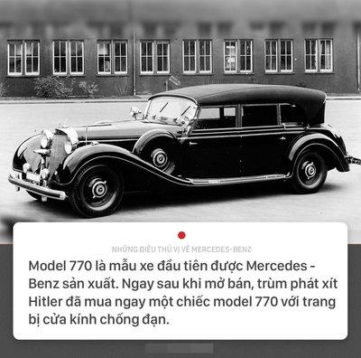 Khám phá 10 điều thú vị về thương hiệu Mercedes-Benz 2.