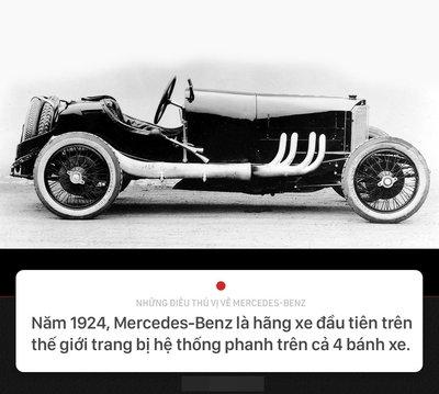 Khám phá 10 điều thú vị về thương hiệu Mercedes-Benz 4.