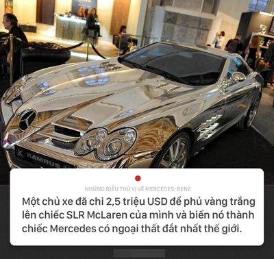 Khám phá 10 điều thú vị về thương hiệu Mercedes-Benz 9.