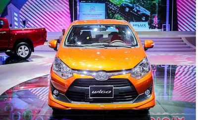 Toyota Wigo tại Triển lãm Ôtô Việt Nam 2017 sắp về Việt Nam 2