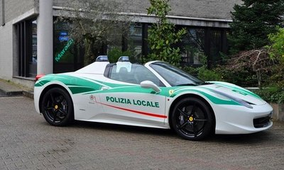 Siêu xe Mafia được công an dùng cho việc giáo dục hoặc có thể đấu giá