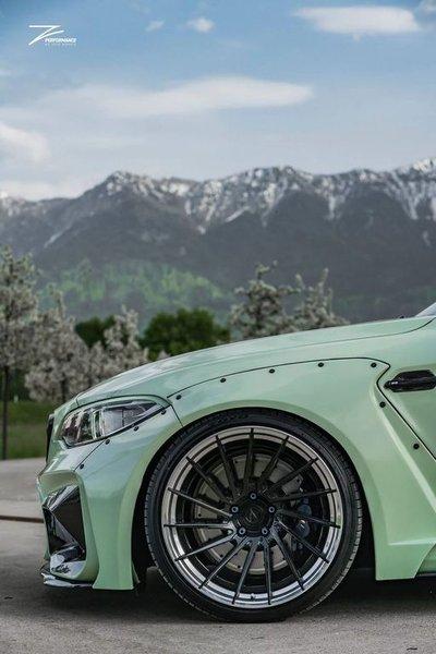 Chiếc xe độ BMW M2 với sự thay đổi hầm hố