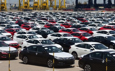 Ô tô nhập khẩu từ Nhật Bản sẽ không thể về Việt Nam vì Nghị định 116.