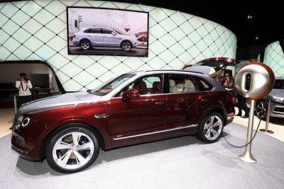 Bentley Bentayga Speed đã sẵn sàng ra mắt trong năm sau 8