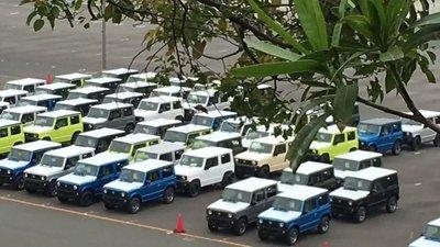 SUV Suzuki Jimny hiện nguyên hình qua loạt ảnh chụp trộm tại nhà máy a2