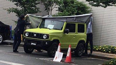 SUV Suzuki Jimny hiện nguyên hình qua loạt ảnh chụp trộm tại nhà máy 1