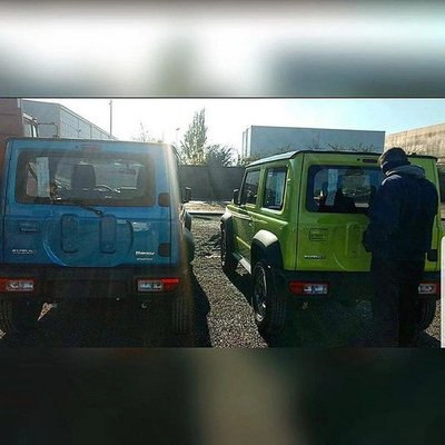 SUV Suzuki Jimny hiện nguyên hình qua loạt ảnh chụp trộm tại nhà máy a6