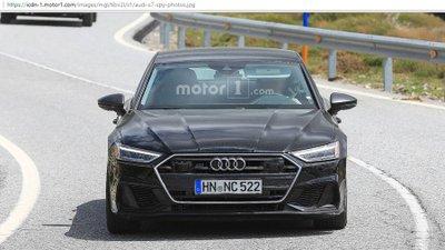 Audi S7 2019 lộ diện hoàn toàn không chút ngụy trang 1.